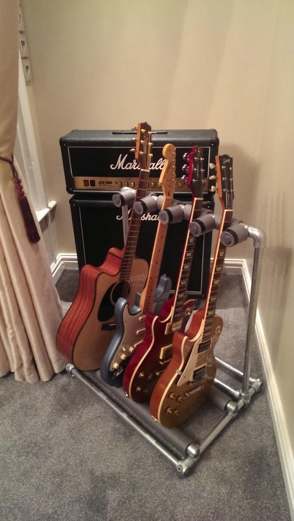 工业风吉他架