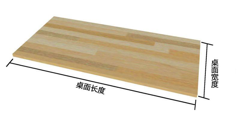 确定桌面尺寸